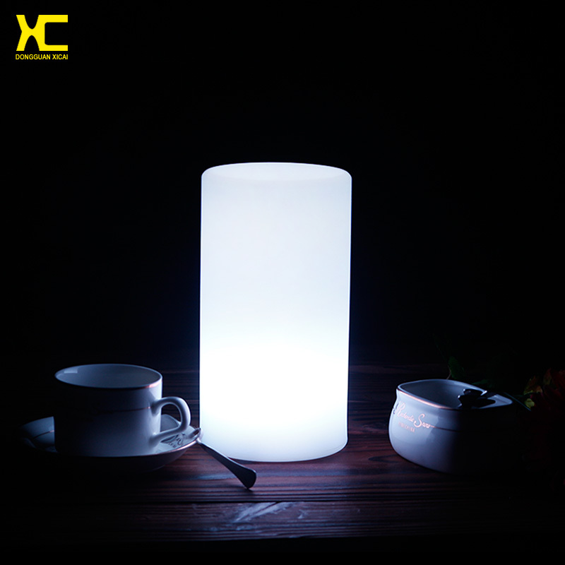 Led Table Lights Part - 17: Aliexpress.com : Buy Chargeable Remote Control Color Changing Plastic Small LED  Table Lamp Cylinder Glowing Bar Night Light From Reliable Night Light ...