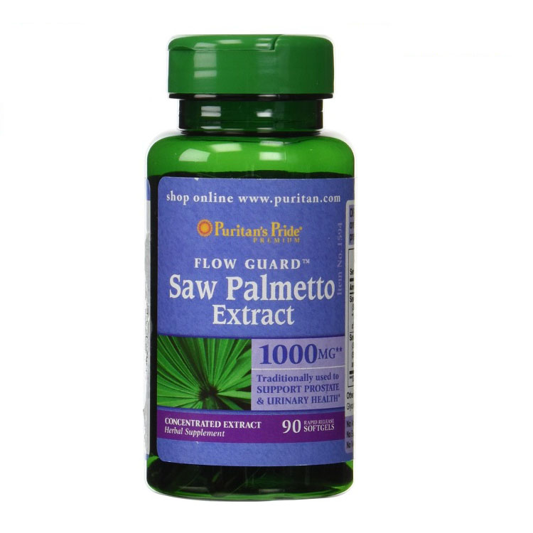 Free shipping  Saw Palmetto Extract 1000 mg 90 Softgels used to Support Prostate & Urinary now foods candida support 90 veg capsules free shipping
