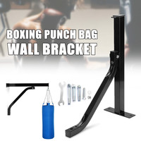 High Quality Heavy   Punch Bag Wall Bracket Steel Mount Hanging Stand Wall Mount Boxing Frame Punching Bag Stand Hanger