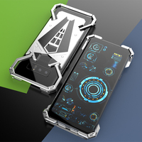R JUST For Note 8 Metal Phone Case Aluminum Metal Bumper Case For Samsung Galaxy Note