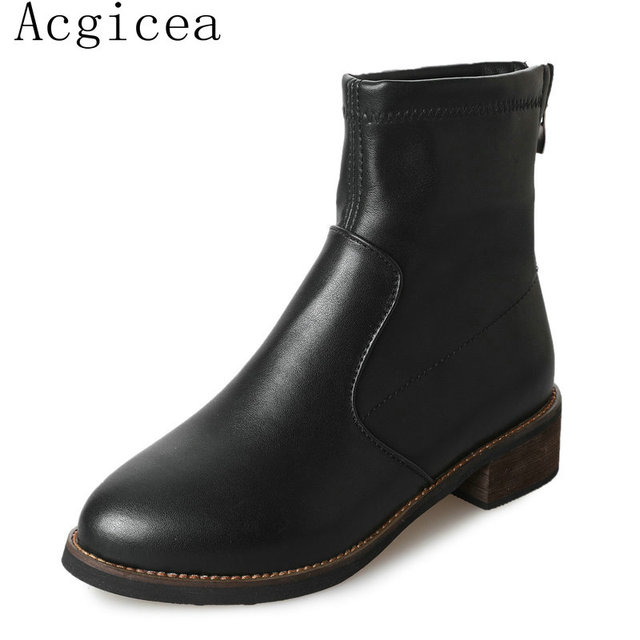 Cheville Bottes Noires Aco Aco W3bk1DA