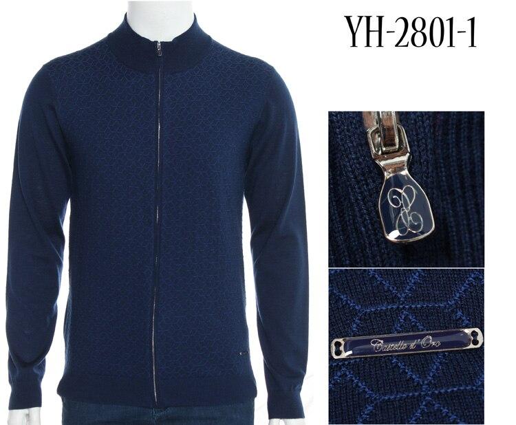 TACE & SHARK Milliardaire de chandail hommes 2018 nouvelle arrivée confort solide couleur géométrie tissu zipper cardigan laine livraison gratuite