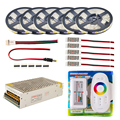 Светодиодные ленты 5 м 10 м 20 м 30 м 110 В/220 В до 12 В RGB RGBW Водонепроницаемый 5050 Гибкая 300 светодио дный диод лента светодио дный канатов ленты усил...