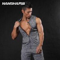 2017 Fahion Brand Gyms Men Tank Tops For Mens Bodybuilding Muscle Vest Fitness Stringer Vest Shirts