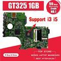 Материнская плата N71JV поддерживает I3 I5 CPU GT325 1 ГБ для For Asus N71J N71JV материнская плата для ноутбука может протестировать работу 100% оригинал