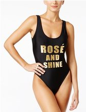 Rose and shine Girl cute bodysuit women one piece suit high cut jumpsuit backless swimwear beachwear summer monokini jumpsuit(China)