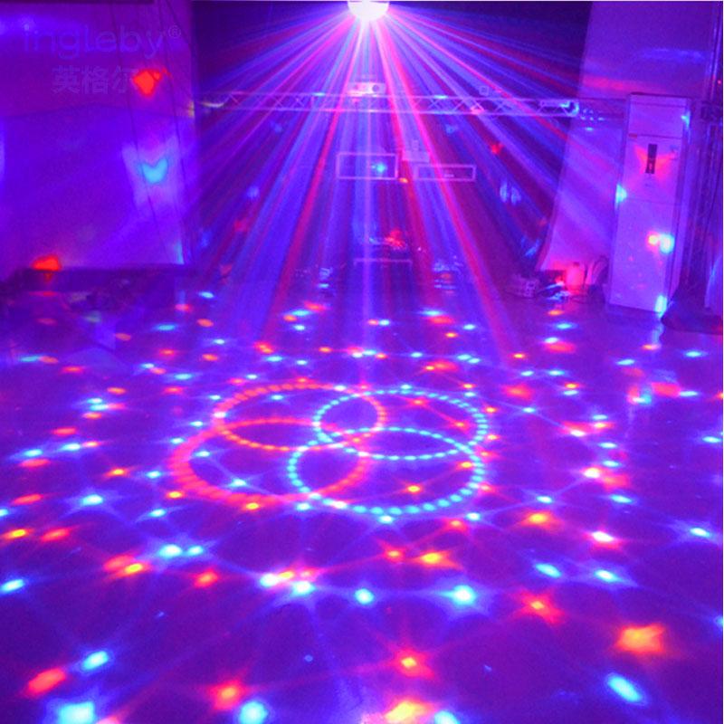 Lampe de scène Led Disco Light Laser 9 Couleurs 21 Modes DMX DJ - Éclairage commercial - Photo 4