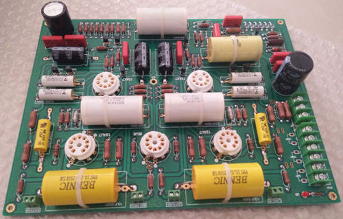 HIFI Tube preamplifier Board PRE amp based GT-1 S L1 +Power supply board assembled upgraded n5 preamplifier board hifi amp board with 2134 opa
