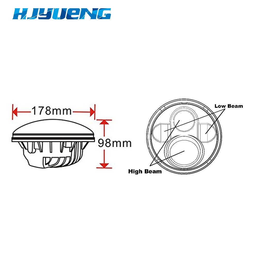 Halo Lamp Wiring Diagram Trusted Schematics Led Headlight Harley Harness Detailed Chevrolet Tail Light For Davidson