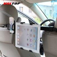 Voltop voiture banquette arrière titulaire tablet mobile téléphone stand ipad réglable auto chaise plateau appui-tête stent siège arrière oreiller support