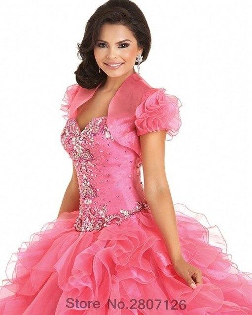 ebda30579 2017 vestido de bola de quinceanera vestidos largos con cuentas rhinestones  sweet 16 año princesa vestidos