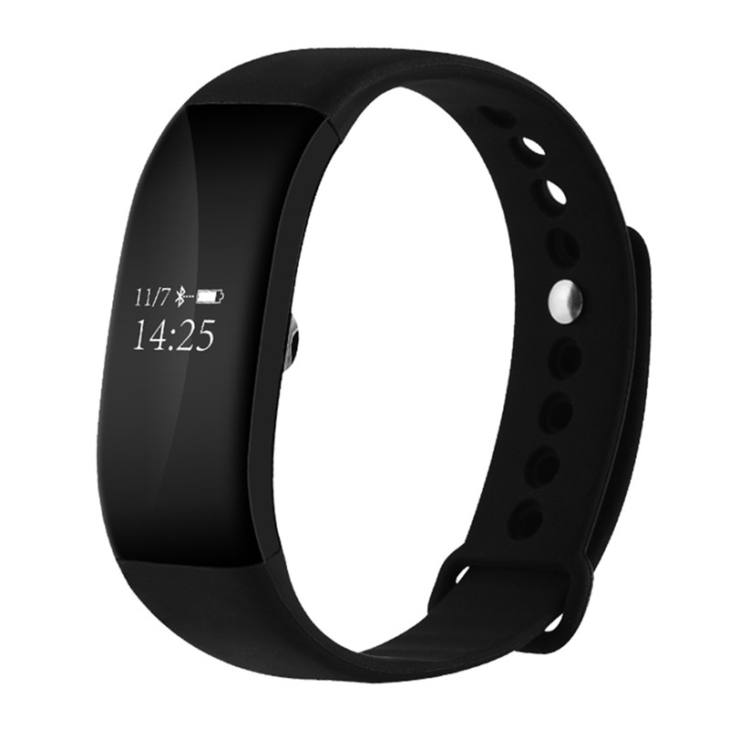 Outdoor Smart Bracelet LED Touch Screen Alarm Fitness Tracker Heart Rate Monitor Bluetooth Message Reminder Smart Wristband Gift new original xiaomi amazfit smartband bluetooth oled touch screen smart wristband fitness tracker heart rate monitor for phone
