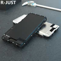 Étui pour Samsung Galaxy Note 9 10 en acier inoxydable Armor King coque antichoc pour Samsung Note9 S10 5G en métal de luxe