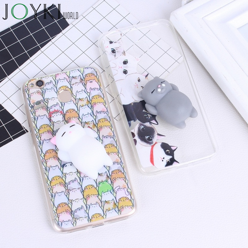 Xiaomi Redmi Note 4 Case Squishy Coque 3D Lovely Bear Silicone Cover Phone Cases For Xiaomi Redmi Note 4 4X 4A 4Pro 4 Cases