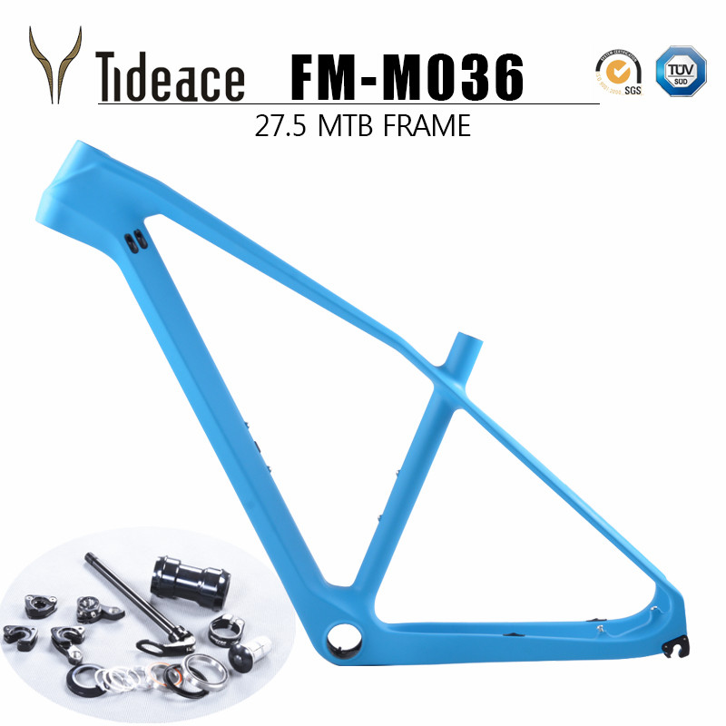 2017 NEW full mtb carbon frame 27.5er cadre vtt carbone 27.5 carbon Mountain bicycle frame cuadro mtb carbono 27.5 free shipping 2016 new model mtb carbon mtb frame mountain bikes frame free shipping
