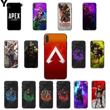 Yinuoda Apex Legends hot game DIY Printing Drawing Phone Case cover Shell for Apple iPhone 8 7 6 6S Plus X XS MAX 5 5S SE XR недорго, оригинальная цена
