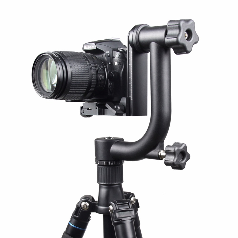 YELANGU Horizontal 360 Degree Panoramic Gimbal Tripod Head for Nikon Canon SONY Samsung Digital SLR Camera