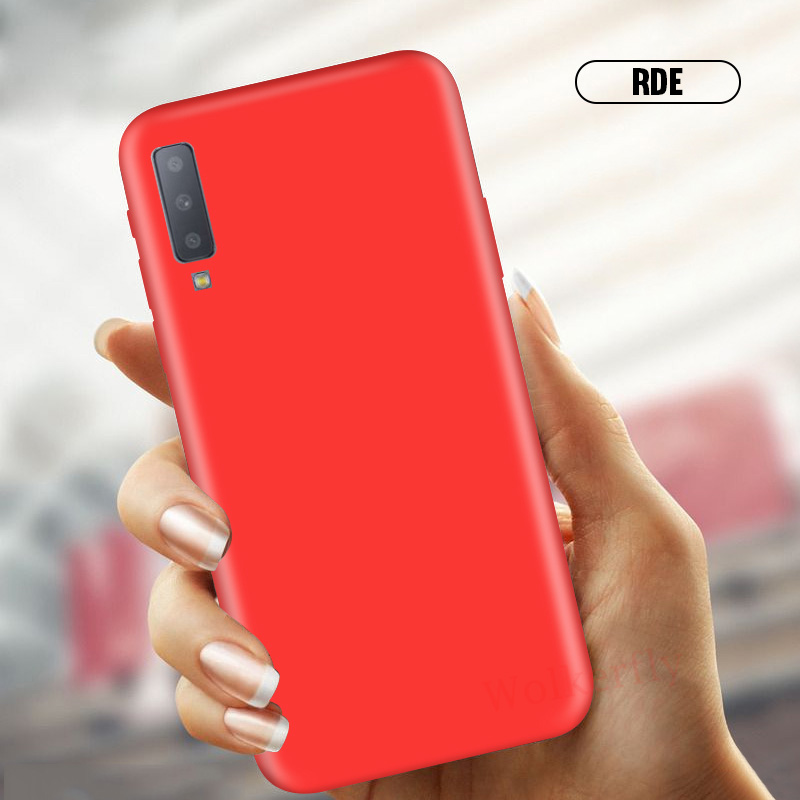 Candy Color Soft Case For Samsung Galaxy S10 E S9 S8 A6 A8 Plus J4 J6 J8 A7 2018 A3 A5 J3 J5 J7 2017 Note 9 8 S7 Edge Cover