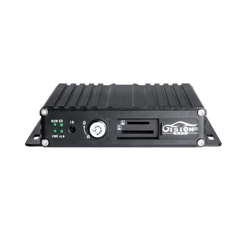 4CH Realtime 720P AHD Mobile Dvr Video/Audio Input Digital Video Recorder I/O Alarm Cheap Price SD Card AHD M-dvr Free Shipping