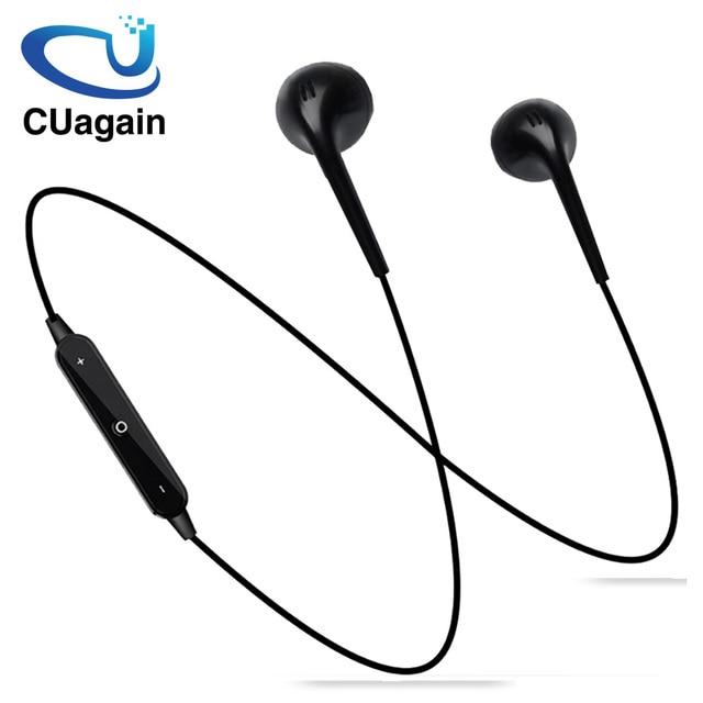 S6 bezprzewodowe słuchawki Bluetooth słuchawki słuchawki nauszne do telefonu z pałąkiem na kark słuchawki sportowe Auriculare CSR Bluetooth