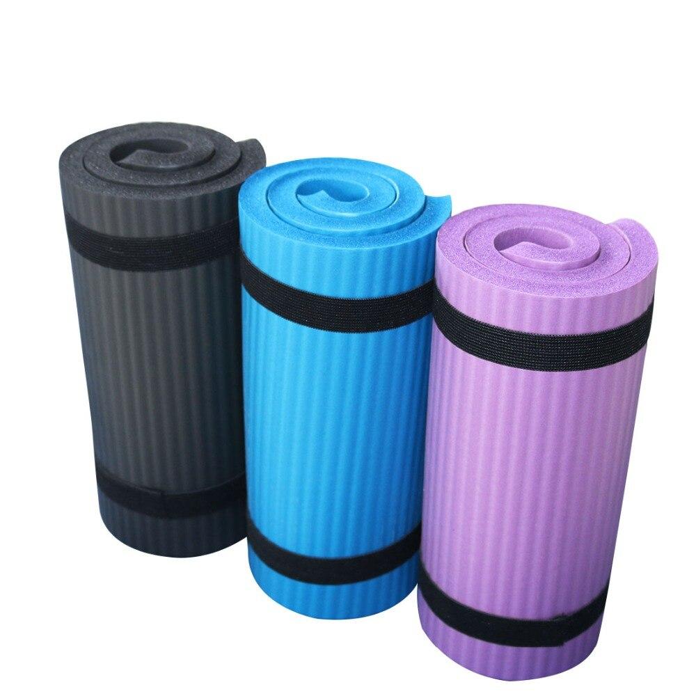 Mini Non-Slip NBR Yoga Auxiliary Pad Sport Mat Gym Soft Pilates Mats Foldable Pads For Body Building Training Exercises