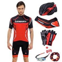 Mens Cycling Jersey Sets Summer Pro Team 2018 Mountain Bike Clothing Mtb Wear Bicycle Clothes Men Cycling Set Short Sleeve Suits недорго, оригинальная цена