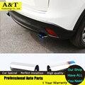 Автомобиль укладки нового обновления стайлинга автомобилей выхлопной трубы хвост для Mazda CX-5 CX5 2013 2014 лучшее качество бесплатная доставка