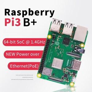 Image 1 - In Voorraad Raspberry Pi 3 Model B Plus Rpi 3 B Plus Met 1 Gb BCM2837B0 1.4 Ghz Arm Cortex A53 ondersteuning Wifi 2.4 Ghz En Bluetooth 4.2