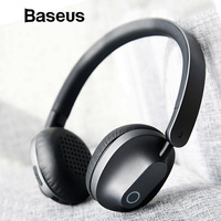 Baseus D01 Bass Noise Canceling Wireless Headphone Bluetooth Headphones Big Wire Headset for PC Gaming Earphone Xiaomi ecouteurs
