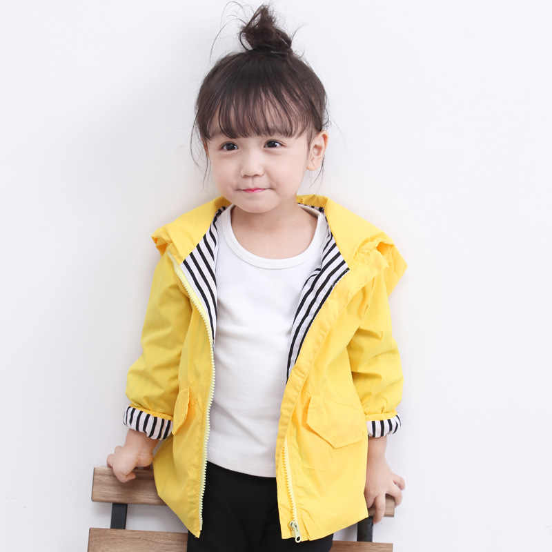 Outtop Baby Girls Boys Raincoat Toddler Kids Cartoon Dinosaur Hooded Windproof Zipper Clothes Jacket Coat TM