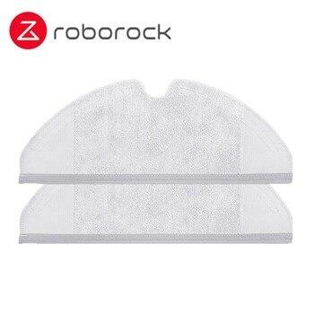 Original Paño De Limpieza Tanque De Agua Seca Fregona Y Tanque De Agua Filtro Aspirador Kits De Piezas Para Xiaomi Roborock S50 S51 S52 Xiaowa