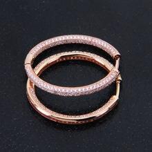 Серьги кольца hemiston в креольском стиле женские роскошные
