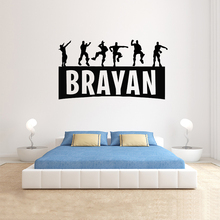 Game Controller video game wall decals Customized For Kids Bedroom Vinyl Wall Art Decals  A1-021