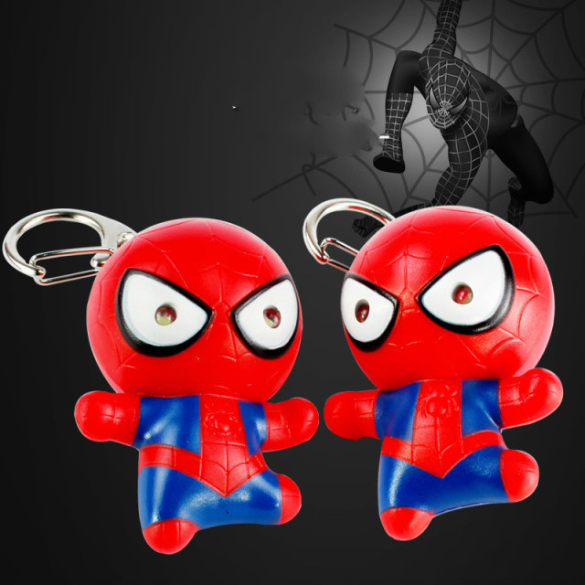 Spider-Man LED Keychain