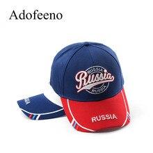Adofeeno бейсболка Мужская s Россия шляпы с буквами для мужчин женщин Snapback Регулируемая Кепка s