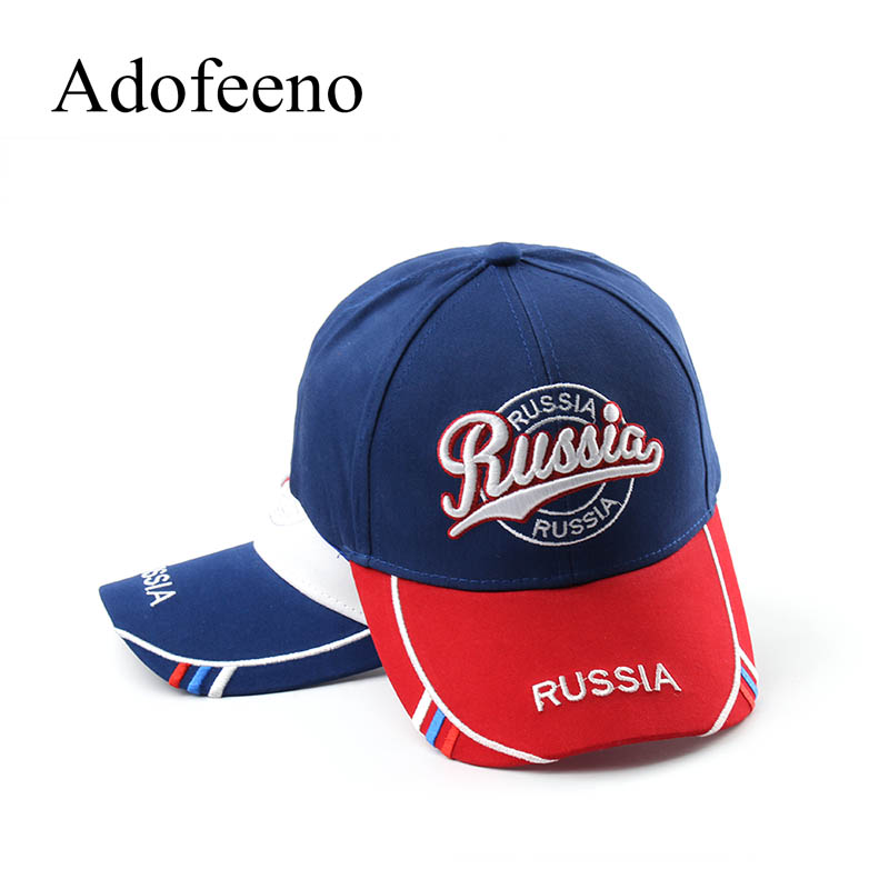 Adofeeno Baseball Cap Mens Russia Letter Hats for Men Women Snapback Adjustable Caps 2017 new lace beanies hats for women skullies baggy cap autumn winter russia designer skullies