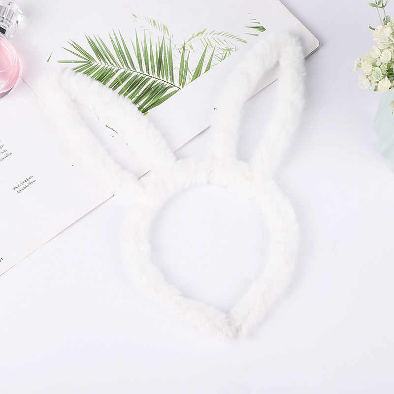 جديد من القطيفة للأطفال البنات قبعة رأس على شكل أرنب للكبار ملابس تنكرية لحفلات الدجاجة ربطة شعر على شكل أرنب إكسسوارات أغطية رأس