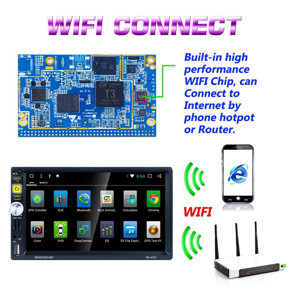 US $127 99 |Hikity 2 din Android GPS Car Radio 7