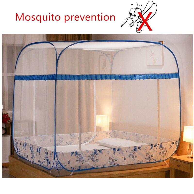 Tente Non toxique de rideaux de lit d'auvent de moustique de prévention de moustiquaire sur le lit