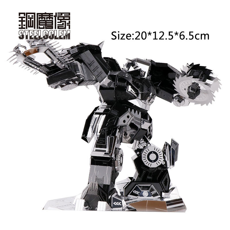 3D Metal Puzzles Model Adult Kids Assembling Jigsaw Despair Ripper Educational Toy/brinquedo Educativo Collection Christmas Gift star war 3d metal puzzle first order special forces tie fighter silver puzzles jigsaw model adult child kids educational toy