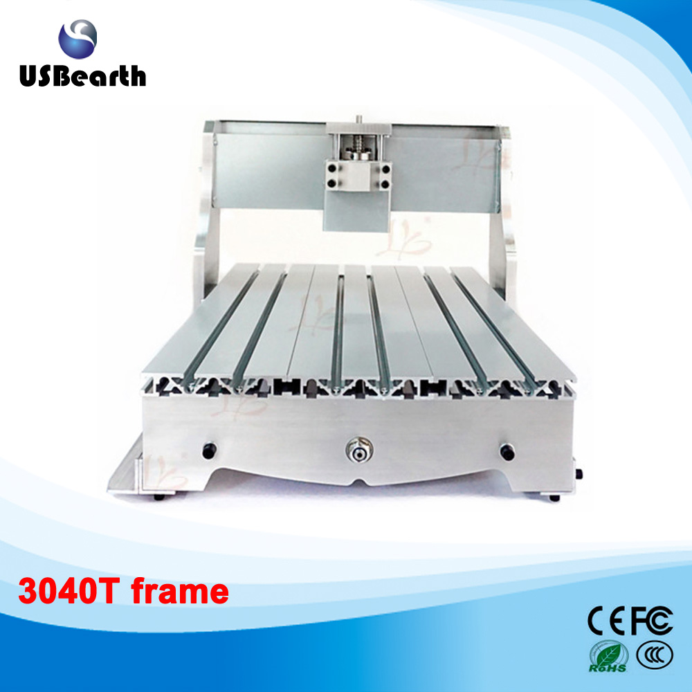 high quality 3040 CNC router engraver engraving machine frame, no tax to Russia free tax to eu high quality cnc router frame 3020t with trapezoidal screw for cnc engraver machine