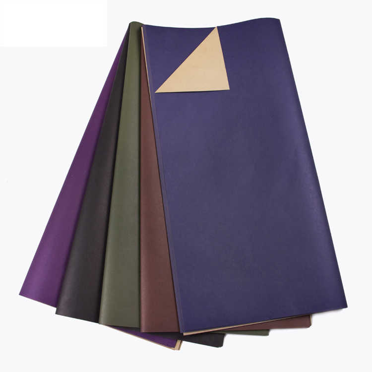 20pcs Double color kraft paper monochrome fashion wrapping paper flower packaging paper material flower shop supplies
