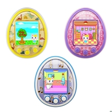 Mini eletrônico animais de estimação brinquedos 8 animais de estimação em 1 virtual cyber usb carregamento micro chat brinquedo para crianças adultos presente