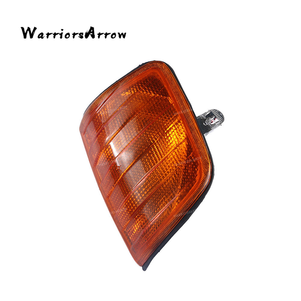 Amber Corner Lights Turn Signal Left For <font><b>Mercedes</b></font> W124 E Class Sedan 1985-1995 E200 <font><b>1996</b></font> E280 Sedan 1993-1994 E420 1248260043 image