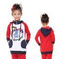 Дети толстовки осень-весна куртка детская одежда молния новый год Кофты для девочек-подростков детские спортивные костюмы хлопка одежды