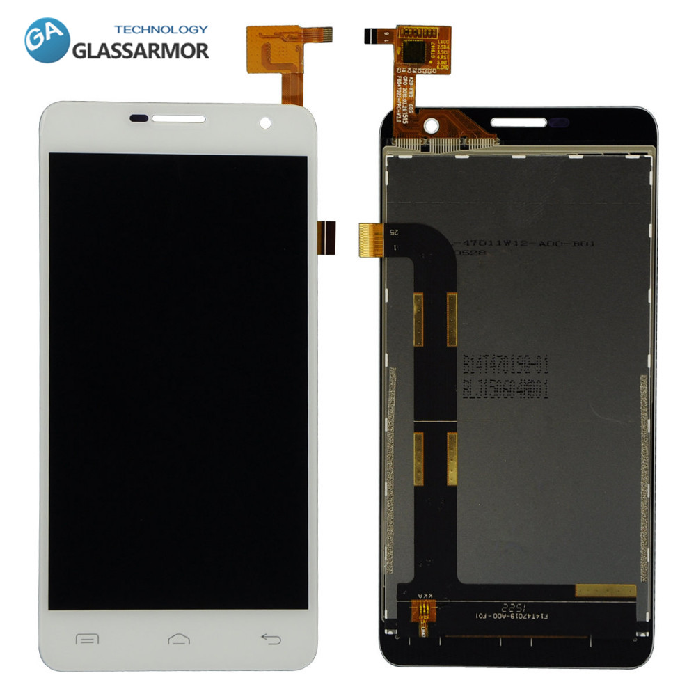 GLASSARMOR original New For DOOGEE DG750 LCD Display + Touch Screen Digitizer Separate Parts Free shipping With Tracking No