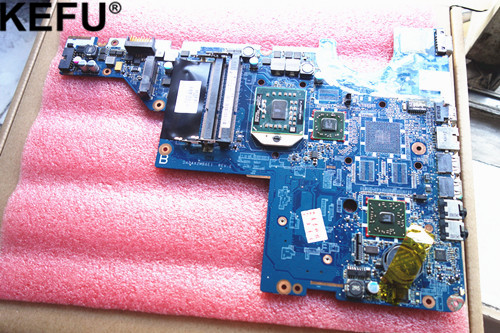 592809-001 Motherboard fit for Hp Compaq CQ42 CQ62 HP G42 G62 DA0AX2MB6E1 tested good + free CPU цена