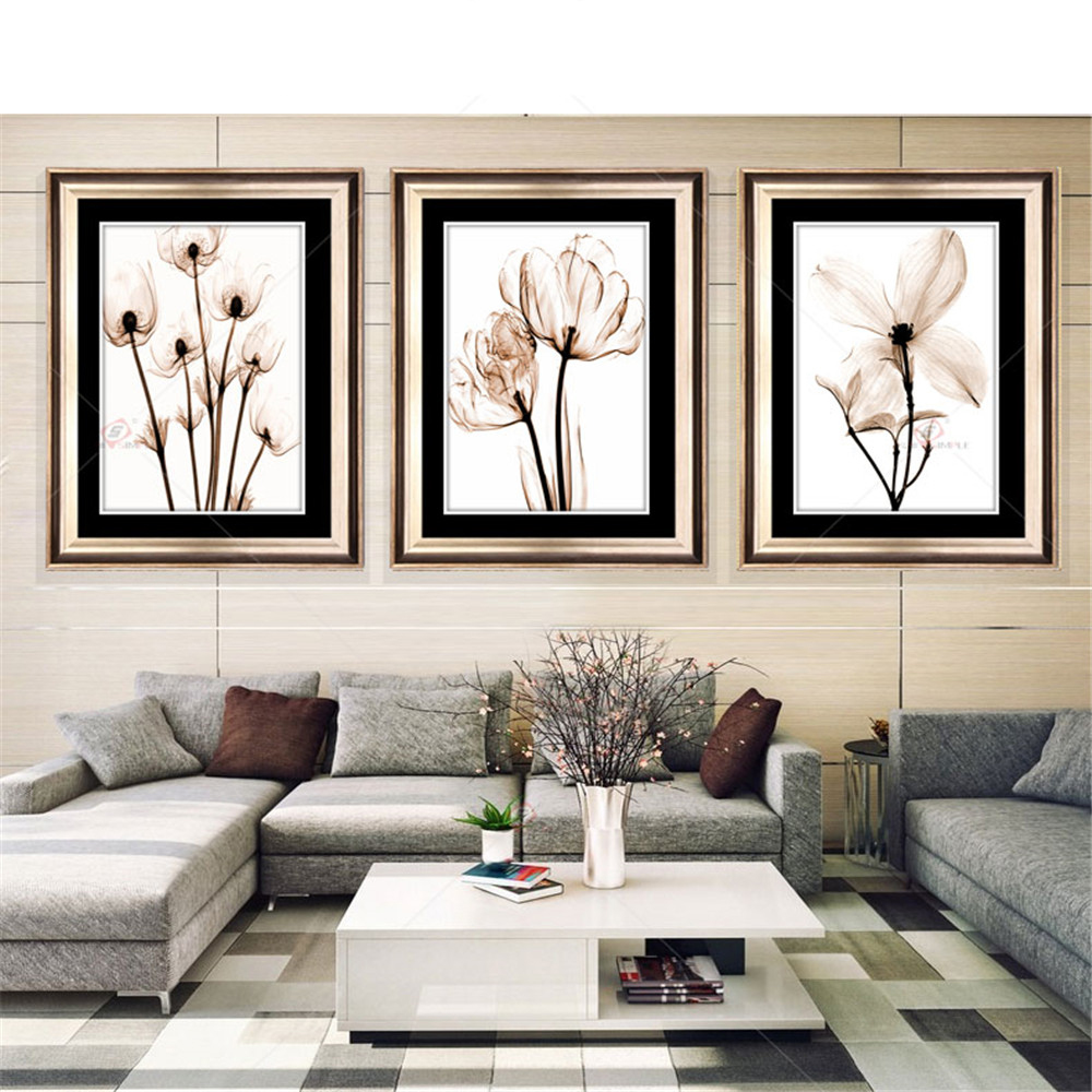 Modular Picture Art Oil Painting Home Des