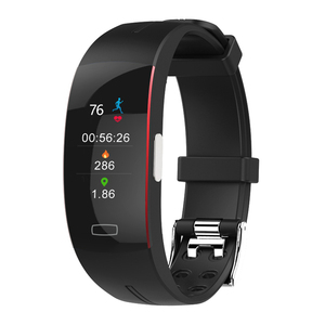 P3PLUS смарт-браслет с поддержкой ЭКГ + PPG, Мониторинг Артериального Давления, пульсометр, шагомер, спортивный фитнес-браслет, трекер, часы