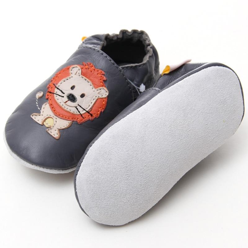 Neugeborene Leder Babyschuhe Mokassins Tier Weiche Sohle Babyschuhe - Babyschuhe - Foto 2